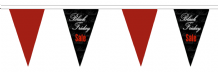 Black Friday November 24th Superior Bunting 5m (16') Long With 12 Flags